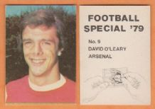 Arsenal David O`Leary Eire 9